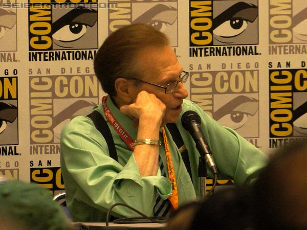 SDCC 2012 - Panel - Larry King interviews Peter Cullen