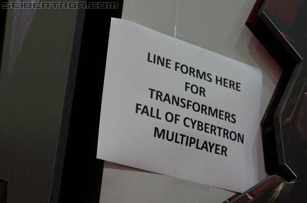Activision Fall of Cybertron Panel and Booth