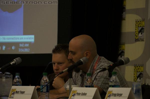 SDCC 2012 - Activision Fall of Cybertron Panel and Booth