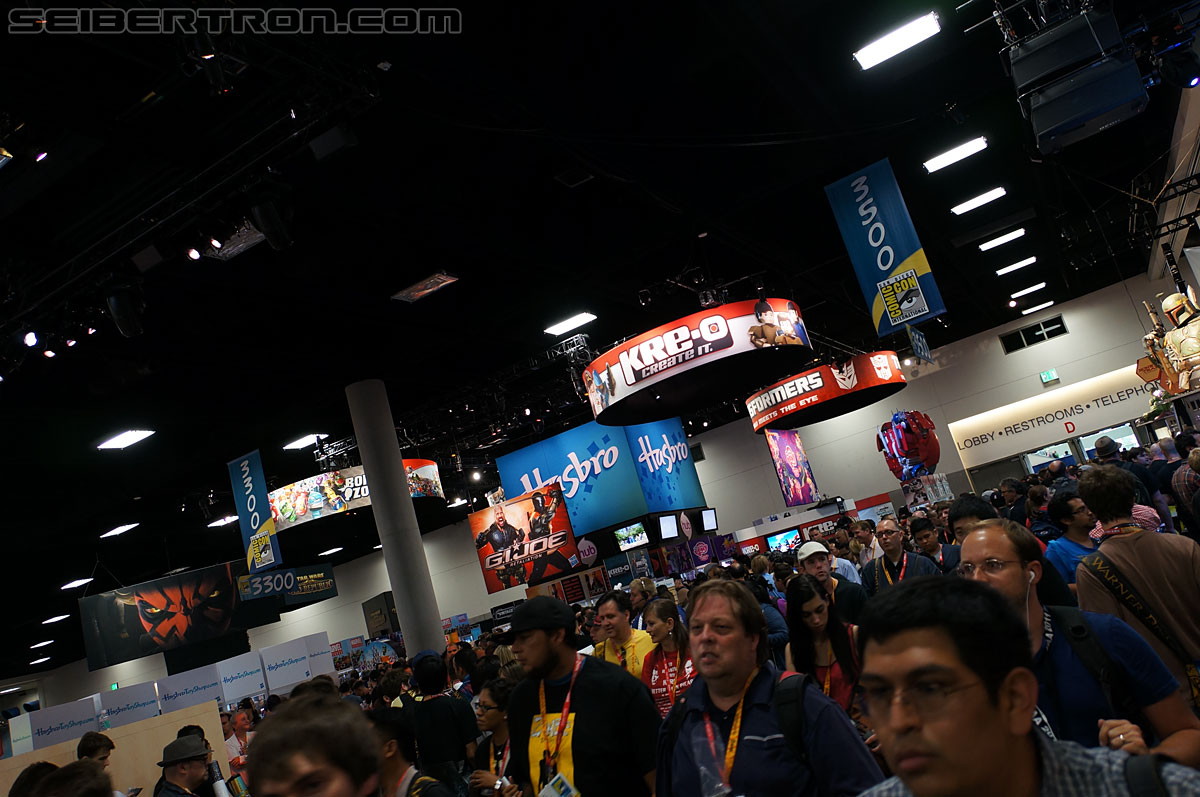 SDCC 2012 - Hasbro's Display Area