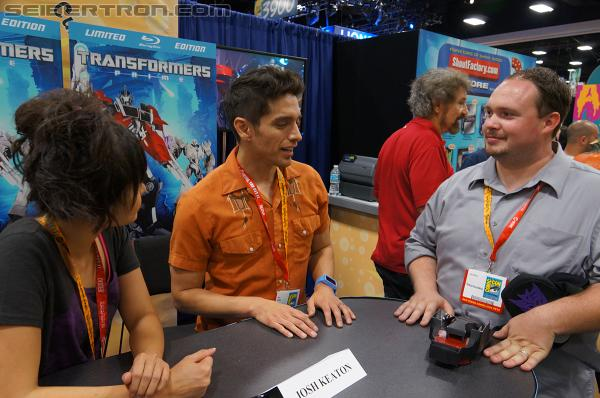 Seibertron.com visits with Transformers Prime's Jack and Miko