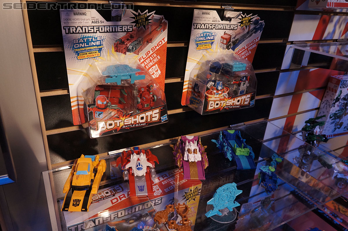 Toy Fair 2013 - Transformers Bot Shots