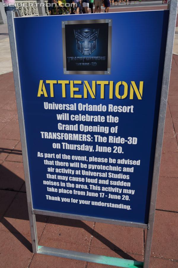 Transformers: The Ride 3D - Grand Opening at Universal Orlando Resort