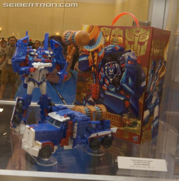 BotCon 2013 Coverage: Transformers Platinum Editions