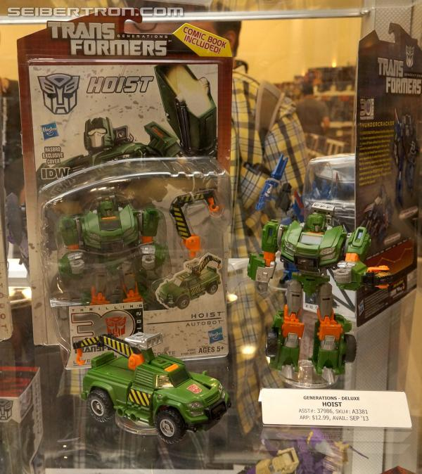 BotCon 2013 Coverage: Transformers Generations