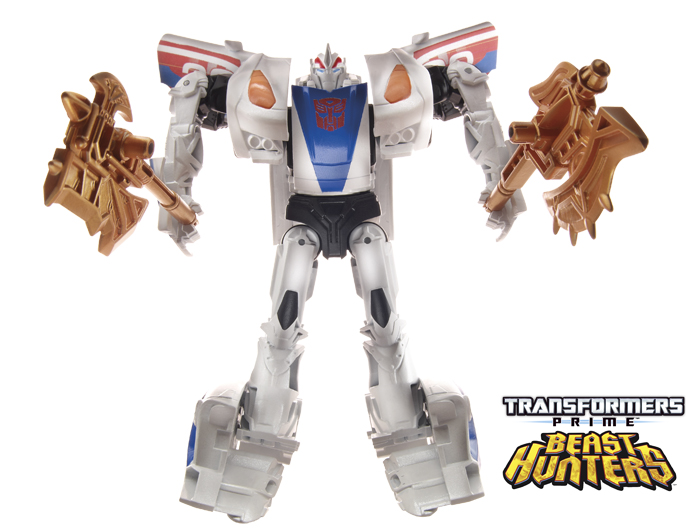 BotCon 2013 News: Transformers Prime Beast Hunters Deluxe and Voyager toys official product images