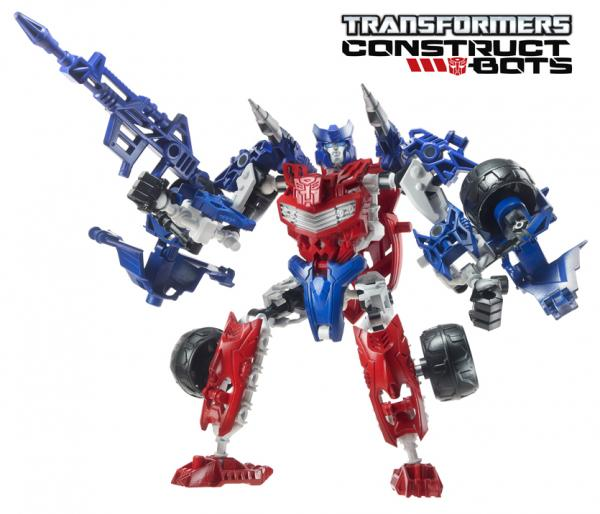 Transformers Construct-Bots Elite toys official product images