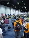 Wizard World 2004 - Transformers Event: People in line for special events tickets