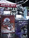 Wizard World 2004 - Transformers Event: Optimus Prime and Megatron statues from Palisades Toys