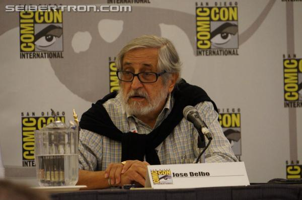 SDCC 2013 Coverage: Jose Delbo Panel Gallery and Video