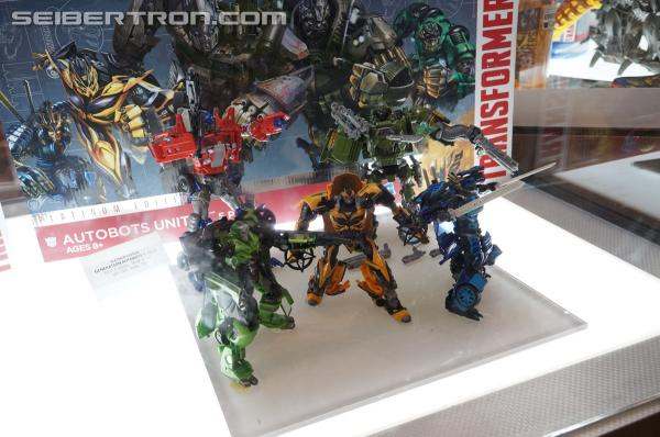 Transformers News: BotCon 2014 Coverage: Age of Extinction Generations and Platinum Edition Showroom Galleries