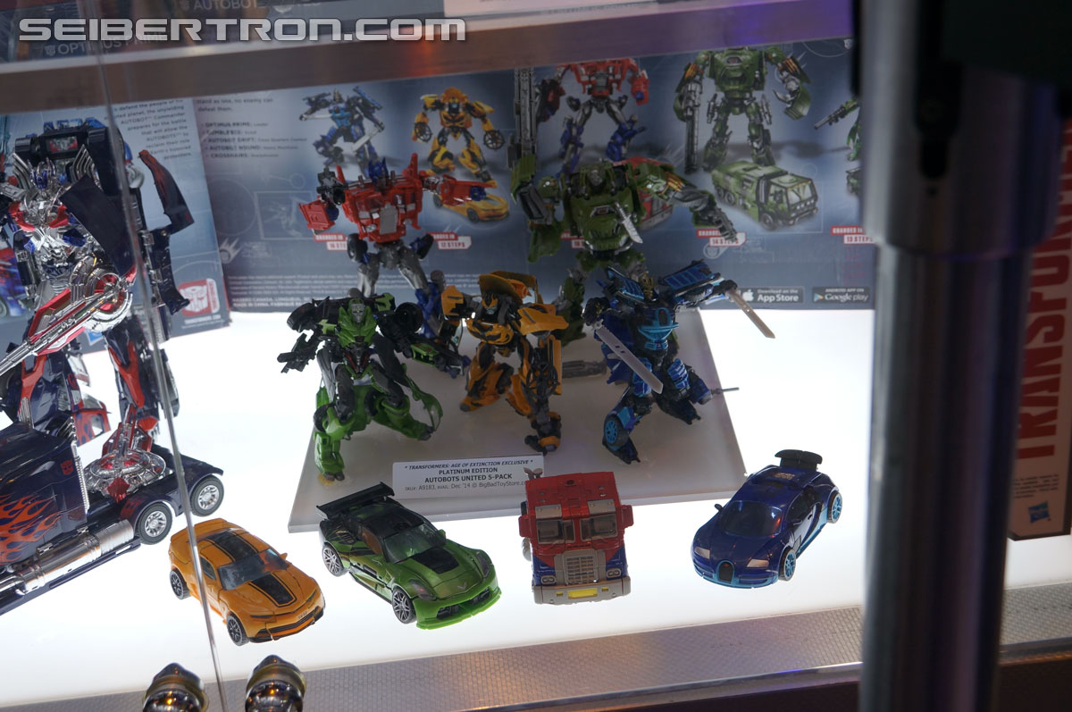 Transformers News: SDCC 2014 Coverage: Galleries Preview