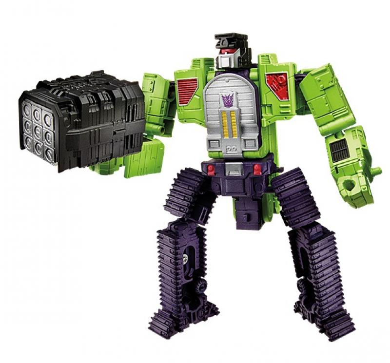 Transformers News: Review of Changes and Upgrades in Takara's Transformers Unite Warriors Devastator (UW 04)