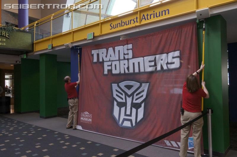 Transformers News: Seibertron.com Coverage - Transformers Exhibit at Children's Museum of Indianapolis