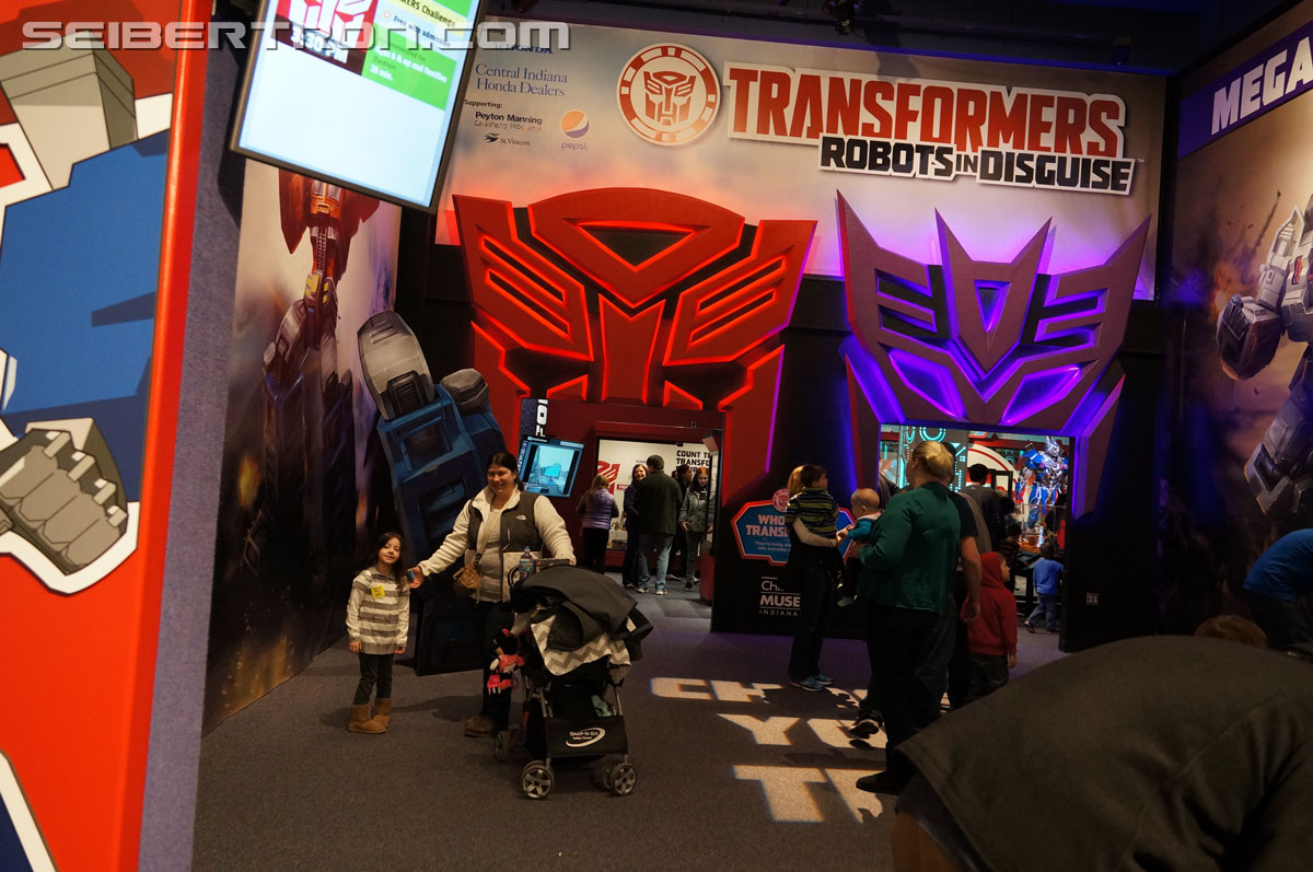 - Transformers: Robots In Disguise Exhibit