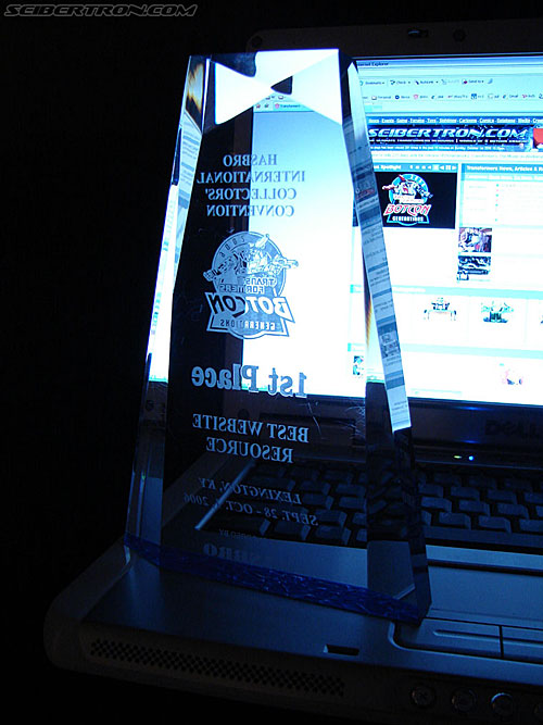 BotCon Website Awards