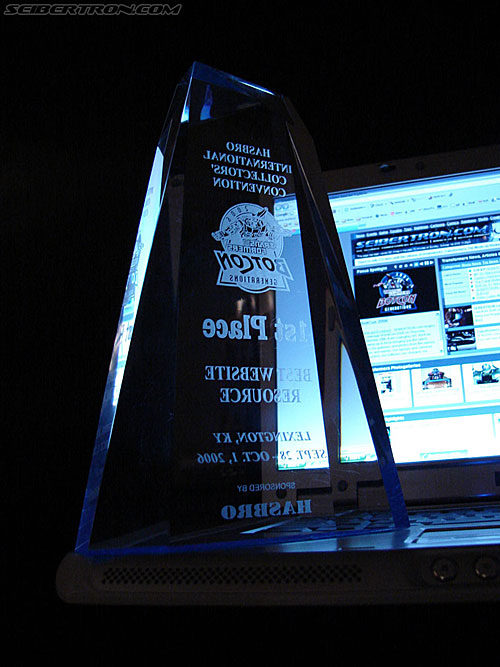 BotCon 2006 - BotCon Website Awards