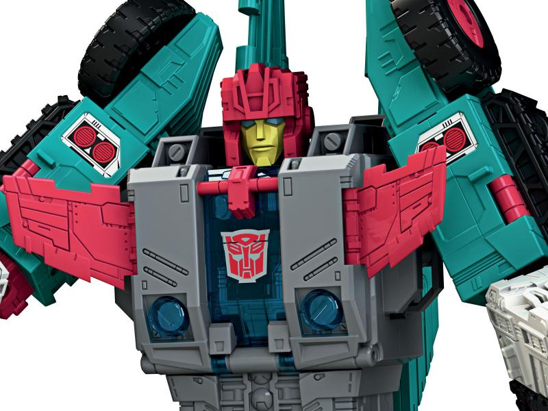 Transformers News: Pictorial Review of Titans Return Chaos on Velocitron Set