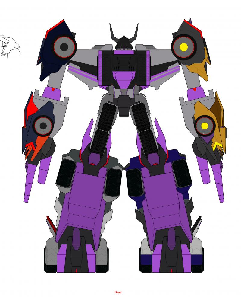 Transformers News: Transformers: Robots In Disguise Combiner Force Ultra Bee, Menasor Cartoon Models