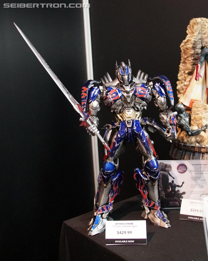 Transformers News: Toy Fair 2017 - Comicave Studios Transformers 1/22 Optimus Prime #TFNY