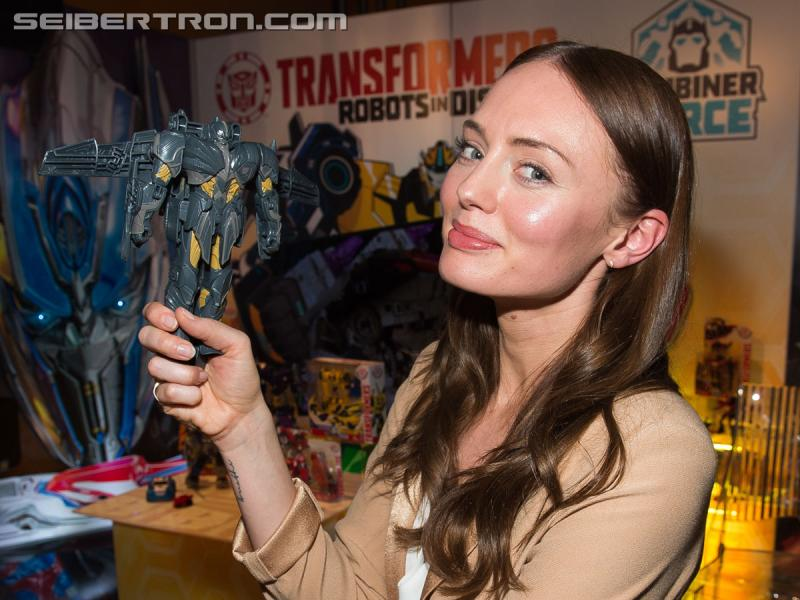 Transformers News: More photos of the Transformers: Last Knight crew at Toy Fair 2017