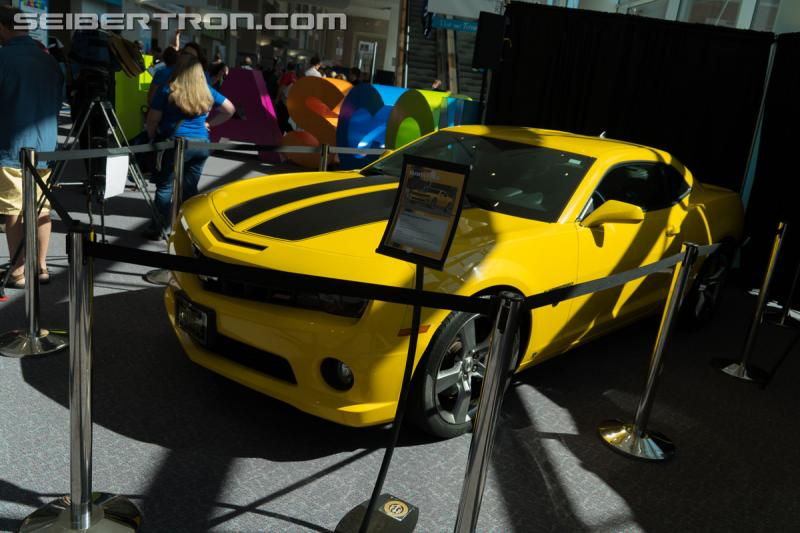 HASCON 2017 - Real world Transformers vehicles on display