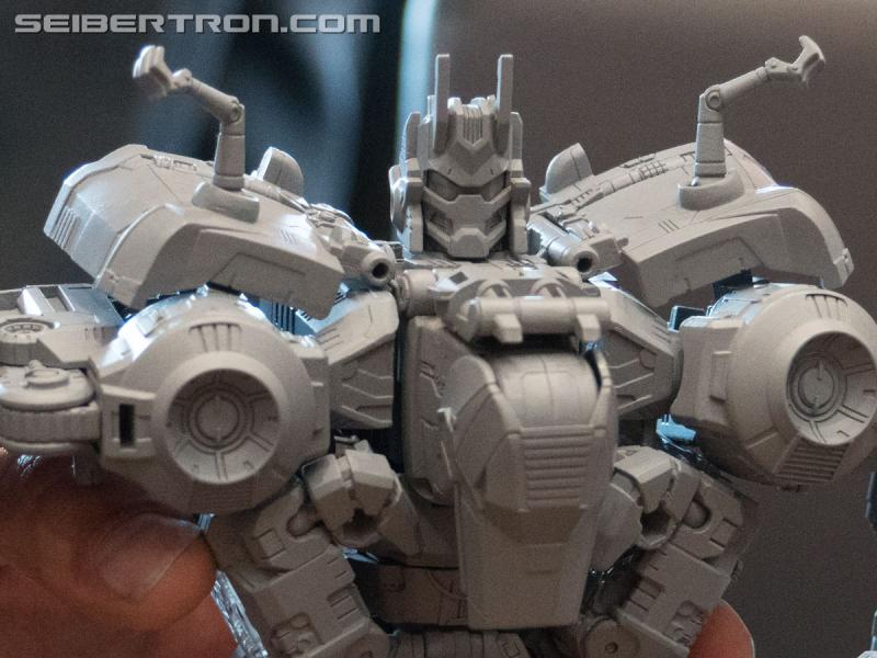 Transformers News: New #Hascon Gallery of Transformers: Power of the Primes Dinobot Combiner Volcanicus