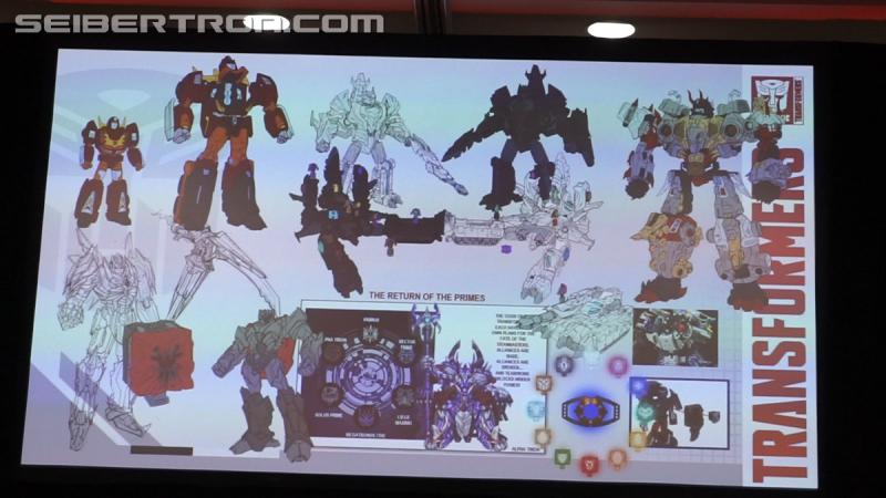 Transformers News: #Hascon 2017 Transformers: Prime Wars Panel Video and Gallery, feat. Power of the Primes