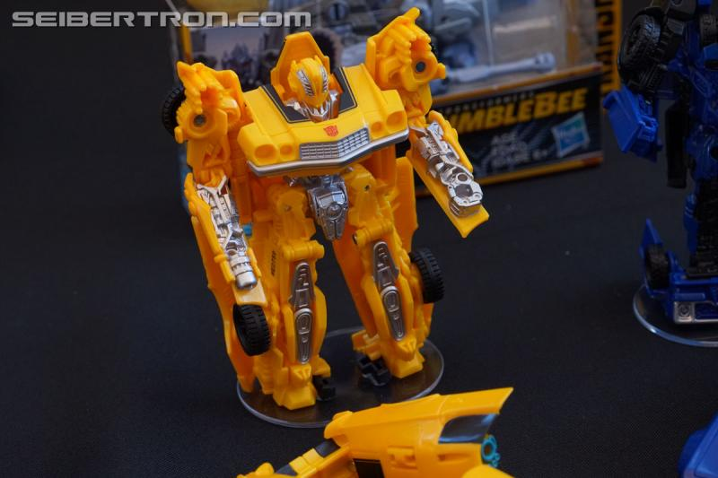 SDCC 2018 - Press Event: Bumblebee Movie products