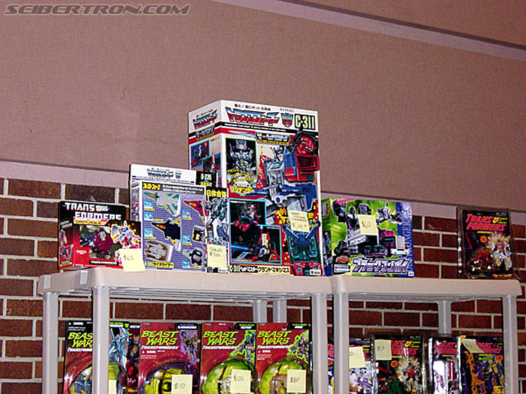 BotCon 2002 - Japanese Transformers Gallery