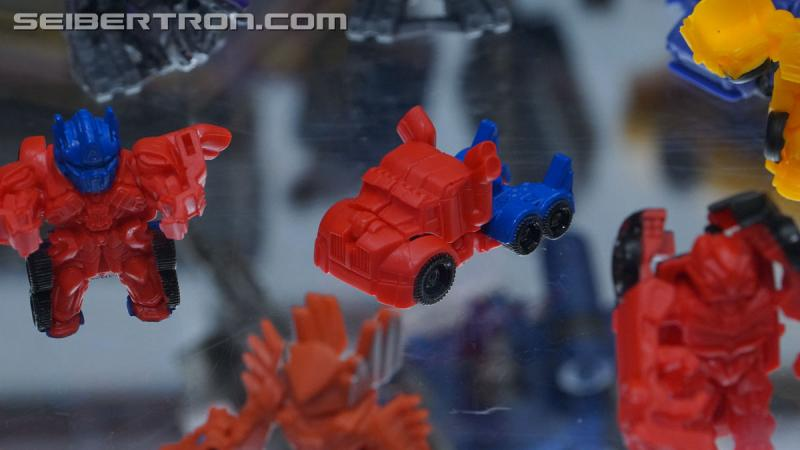 SDCC 2018 - Transformers Tiny Turbo Changers Series 4 Movie Edition toys