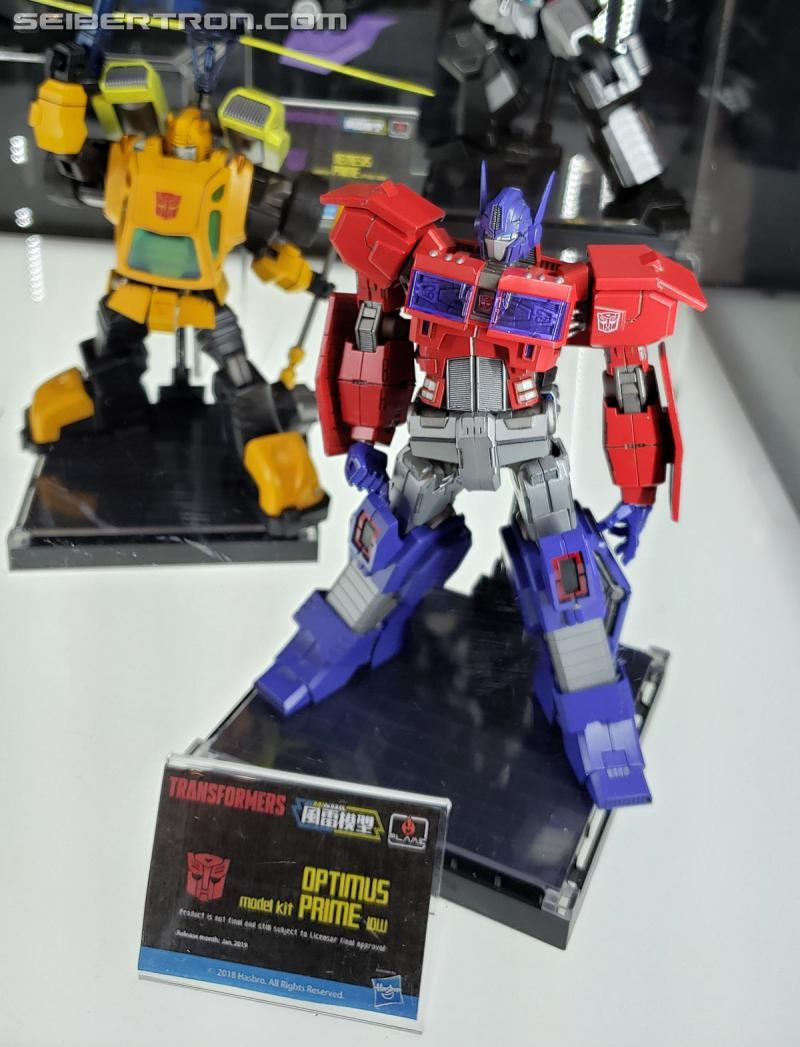 Toy Fair 2019 - Flame Toys Transformers products