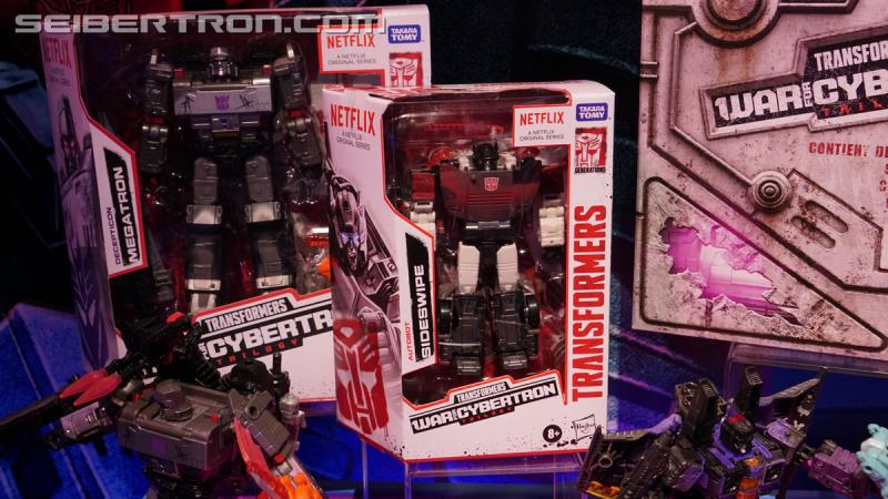 Transformers News: Gallery of Transformers Netflix Series Figures Display from #HasbroToyFair 2020 + Preorder Links