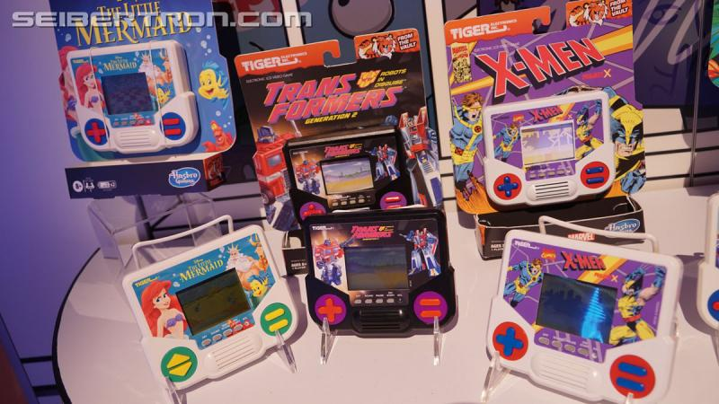 Transformers News: Images of 2020 Toyfair Hasbro Panel and Retro LCD Handhelds #HasbroToyFair
