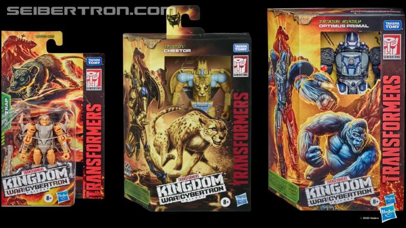Transformers News: Transforming Ark in robot mode seen in Kingdom Poster + images of new packaging style