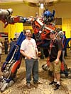 BotCon 2007: Movie Optimus Prime Statue - Transformers Event: DSC06658