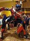 BotCon 2007: Movie Optimus Prime Statue - Transformers Event: DSC06839