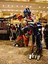 BotCon 2007: Movie Optimus Prime Statue - Transformers Event: DSC06840