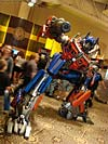 BotCon 2007: Movie Optimus Prime Statue - Transformers Event: DSC06848