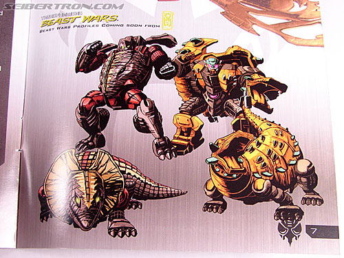 First pic from IDW's upcoming Beast Wars profile book