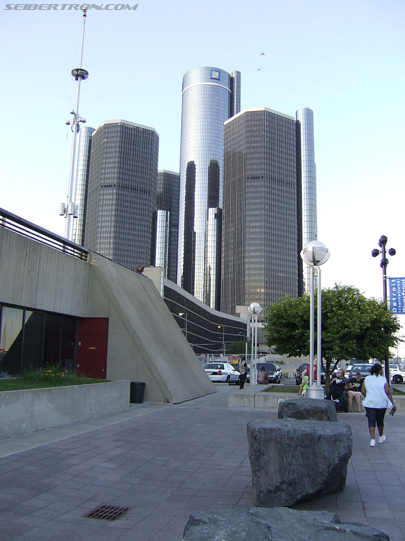 Detroit River Walk