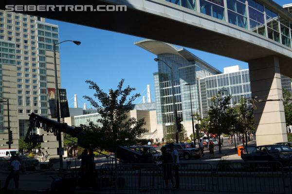 Photos from Transformers 4 set at McCormick Place in Chicago