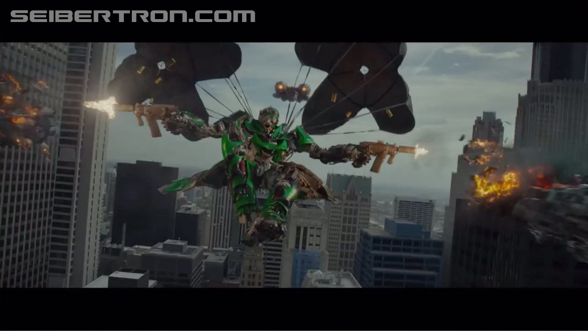 Transformers News: Transformers: Age Of Extinction Super Bowl Trailer Screencaps