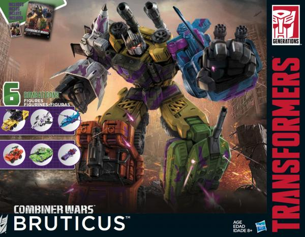 Transformers News: Upcoming 2016 Combiner Wars G2 Bruticus Official Product Images
