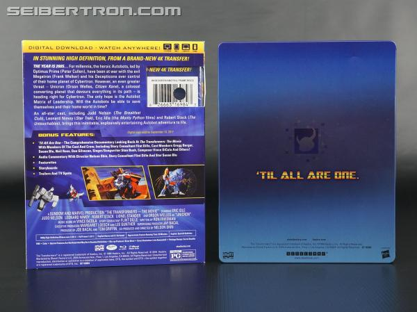 Transformers News: In-Hand images of Transformers The Movie 30th Anniversary Blu-Ray sets from Shout! Factory