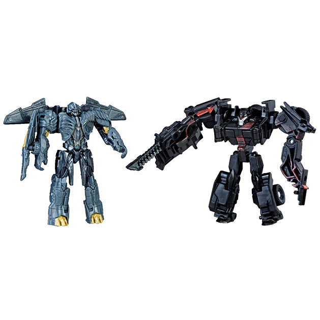 Transformers News: Unreleased Transformers: The Last Knight Walmart Exclusive Legion Two Packs Appearing at Ross