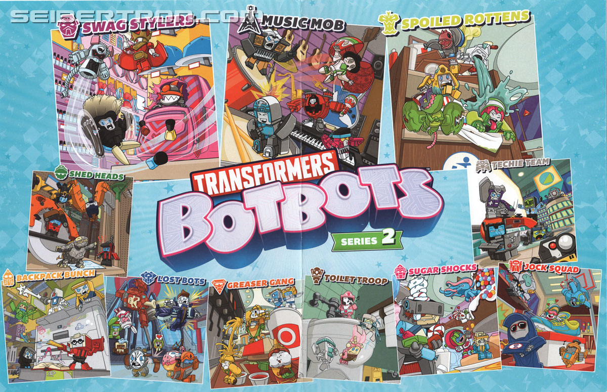Transformers News: Transformers BotBots Series 2 Promo Box and Full Checklist #BotsBotsChallenge