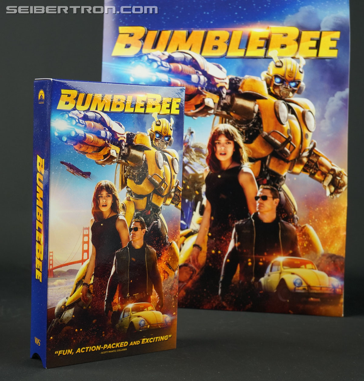 Bumblebee Limited Edition VHS Promotion