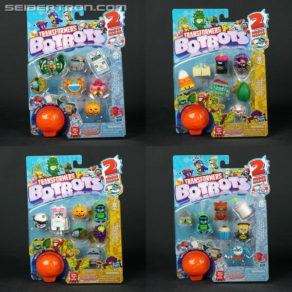 Transformers News: Transformers BotBots Series 3 Promo Box and Series 4 Full Checklist #BotBotsChallenge