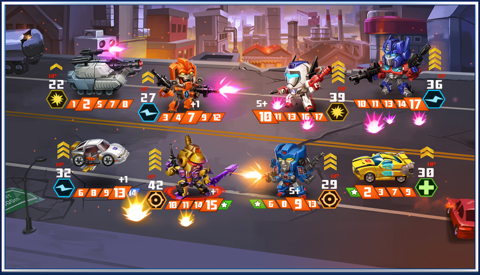 Transformers News: New Transformers: Battle Tactics Mobile Game